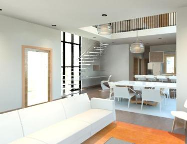 Rendered Interior Image