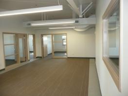 2nd floor Reception area.