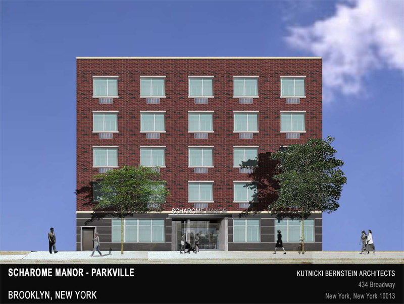 Designed in collaboration with Larry Kutnicki, AIA and Omar Hernandez. This proposed design for a new senior housing project located next to an existing senior housing project by the same owner, would add 80 more beds for the jewish community in Brooklyn, NY.