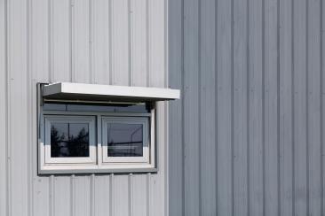 New windows & sunshades